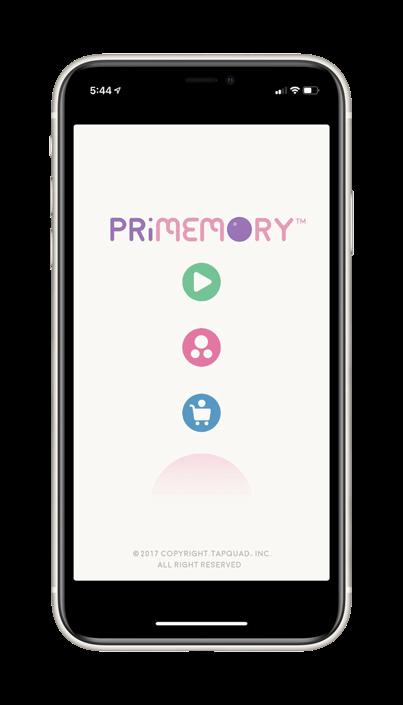Primemory Memory Game