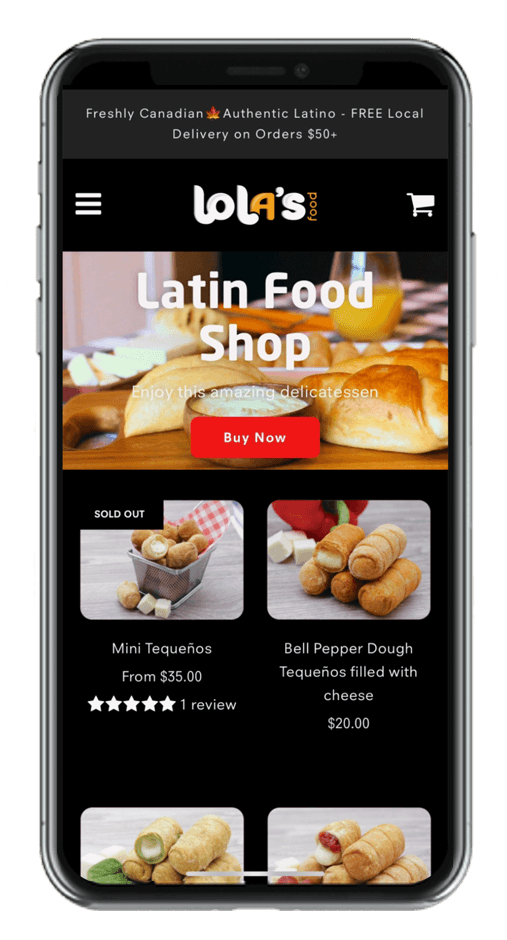 Lola's Food Inc App