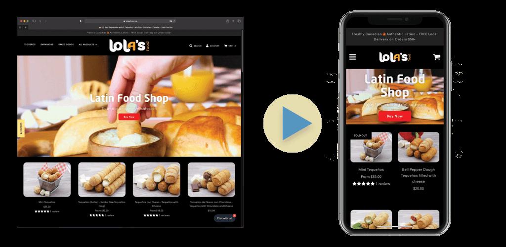 Ecommerce to App